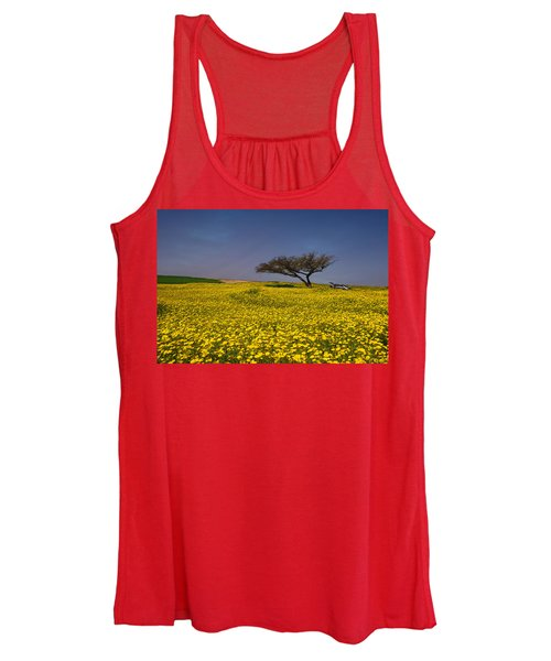Yellow Spring Women's Tank Top