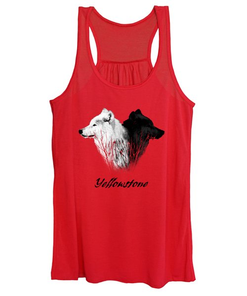Yellowstone Wolves T-shirt Women's Tank Top