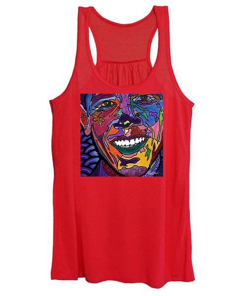 Yes We Can Obama Women's Tank Top