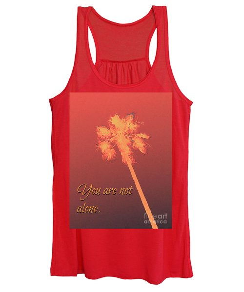 You Are Not Alone Women's Tank Top