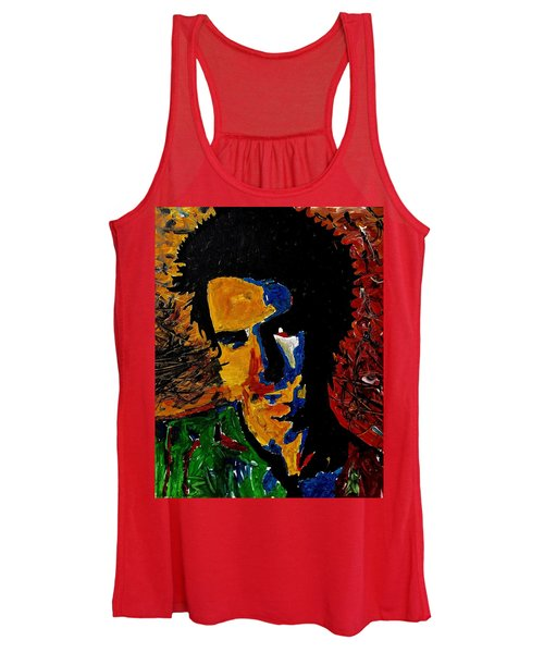Young Sid Vicious Women's Tank Top