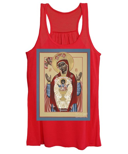 The Black Madonna Your Lap Has Become The Holy Table 060 Women's Tank Top