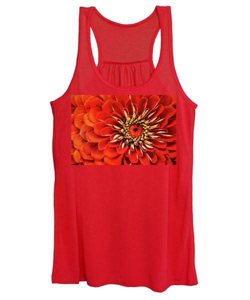 Zinnia-macro Women's Tank Top