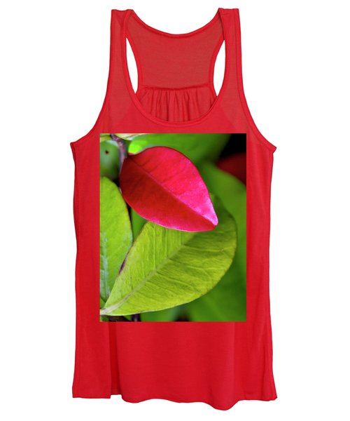 Colours. Red Women's Tank Top
