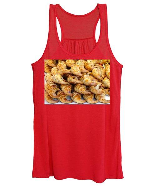 Freshly Baked Croissants Women's Tank Top