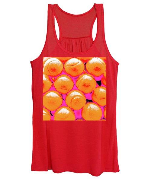 Pop Art Tennis Balls Women's Tank Top