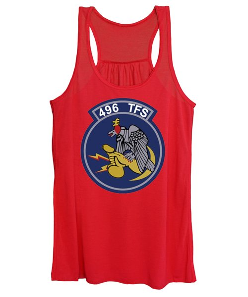 496th Tactical Fighter Squadron  Women's Tank Top