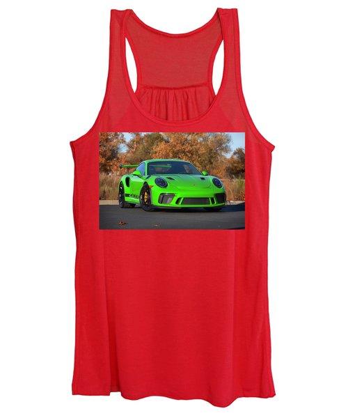#porsche 911 #gt3rs #print Women's Tank Top