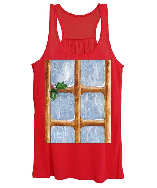 A Visit From Jack Frost Women's Tank Top