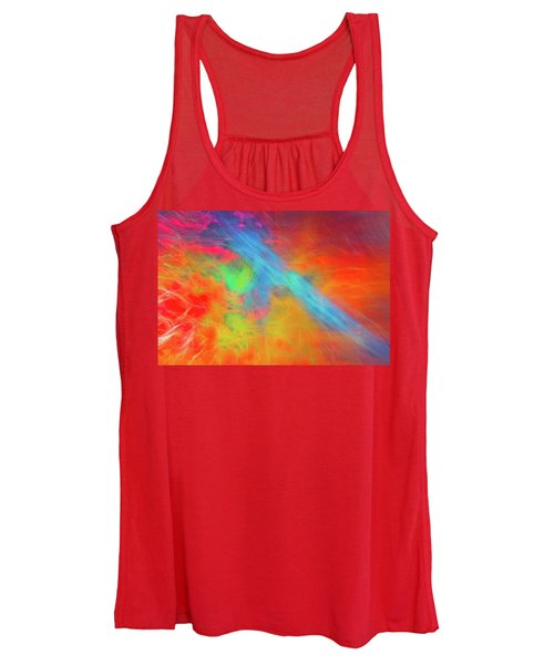Abstract 51 Women's Tank Top