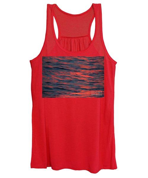 Abstract Ocean Women's Tank Top