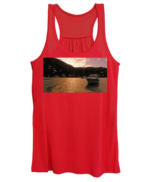 Abstractions Of Coral Bay Women's Tank Top