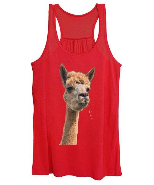 Alpaca Head Women's Tank Top