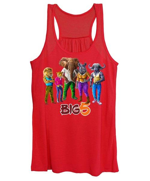 The Cool Big Five  Women's Tank Top