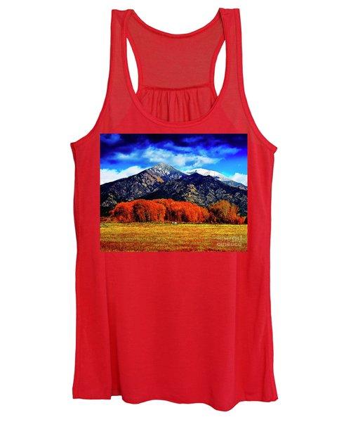 Autumn In Taos New Mexico Women's Tank Top