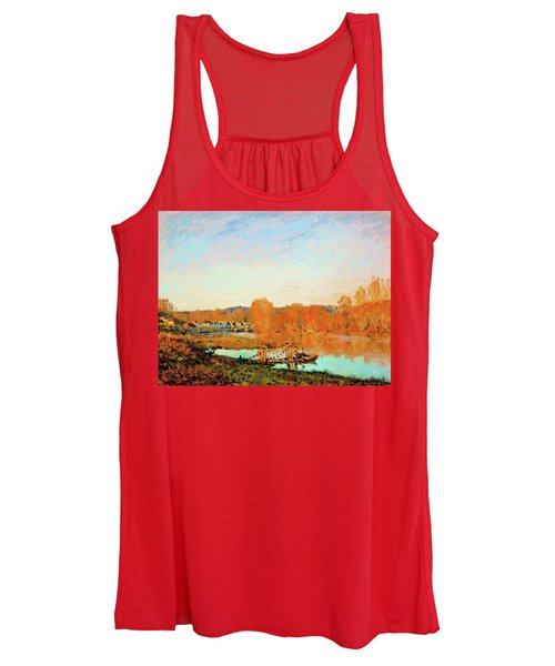 Banks Of The Seine Near Bougival - Digital Remastered Edition Women's Tank Top