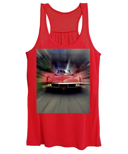 Big Red Women's Tank Top