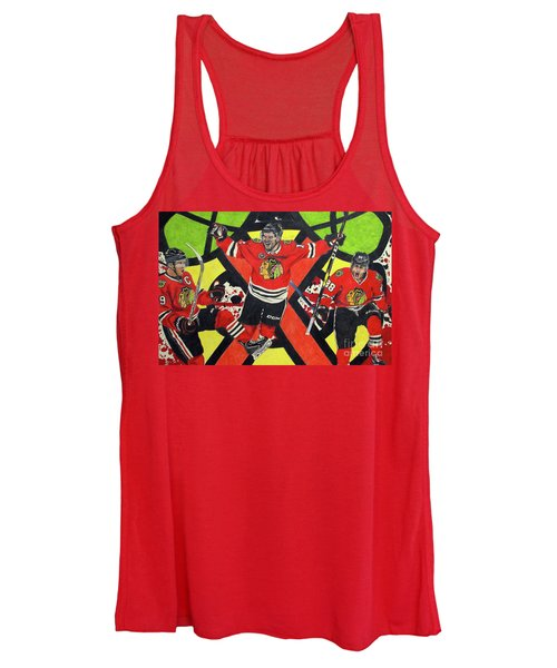 Blackhawks Authentic Fan Limited Edition Piece Women's Tank Top