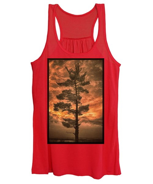 Burning Sky Women's Tank Top