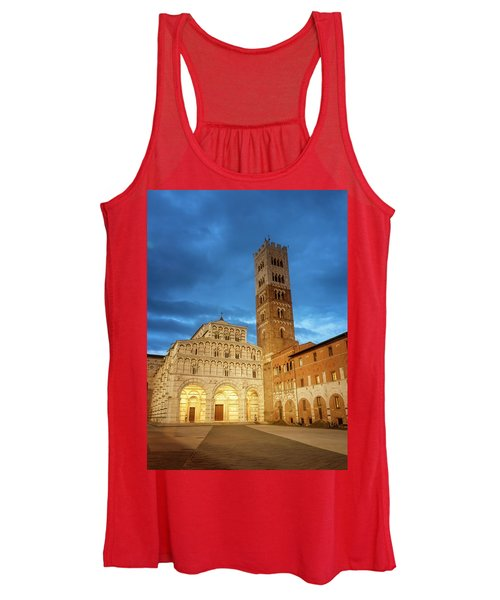 Cathedral Lucca Italy Women's Tank Top