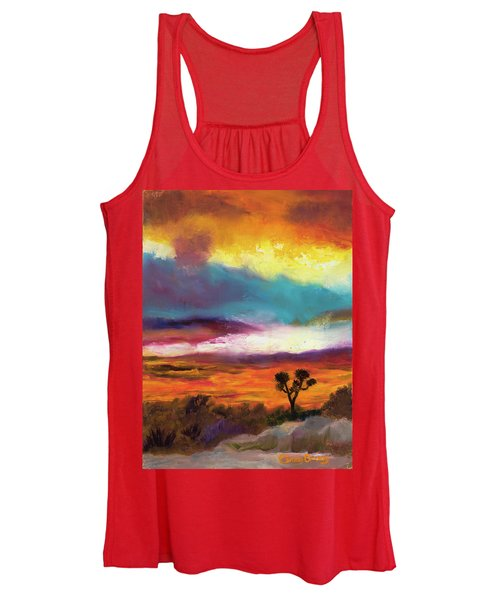 Cindy Beuoy - Arizona Sunset Women's Tank Top