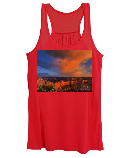 Clearing Storm Cape Royal North Rim Grand Canyon Np Arizona Women's Tank Top