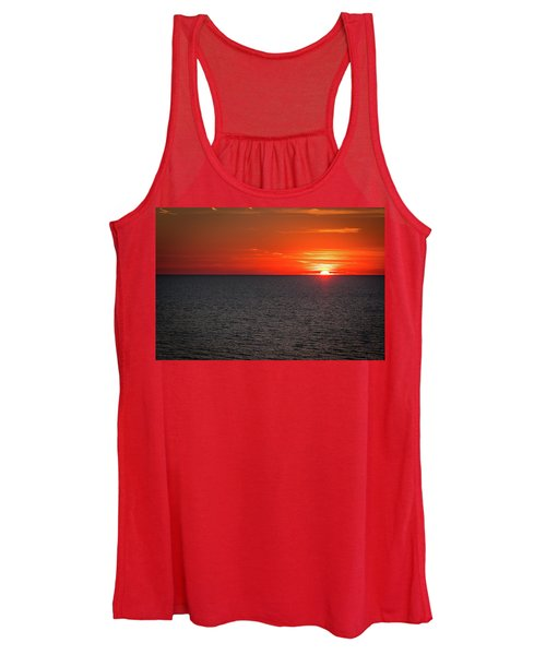 Clearwater Sunset Women's Tank Top
