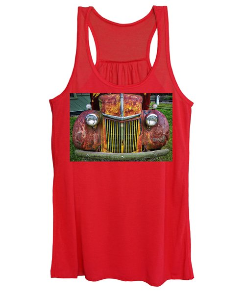 Colorful Ford Women's Tank Top