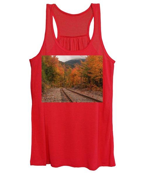 Crawford Notch Scenic Railway Autumn Women's Tank Top