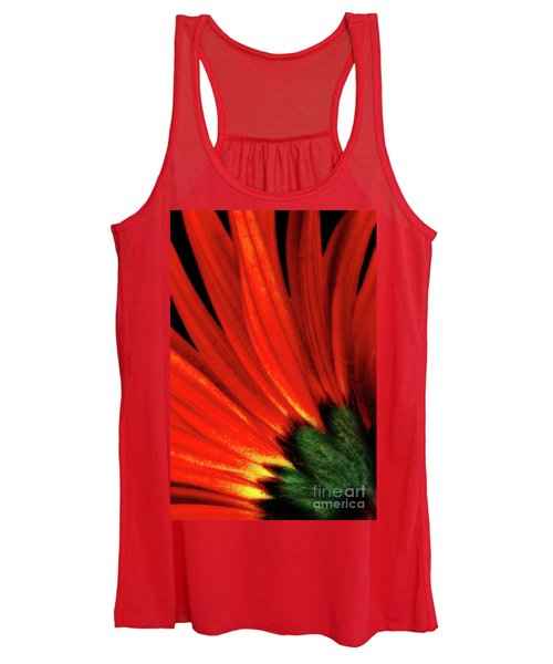 Daisy Aflame Women's Tank Top