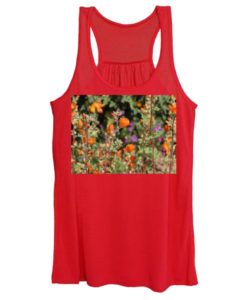 Desert Wildflowers Women's Tank Top