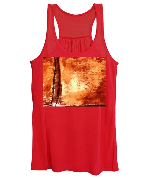 Digital Abstract No9. Women's Tank Top