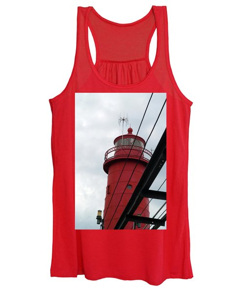 Dressed In Red Women's Tank Top