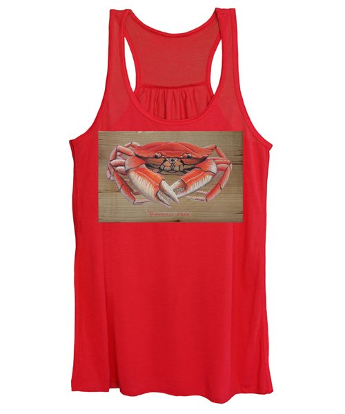 Dungeness Crab Women's Tank Top