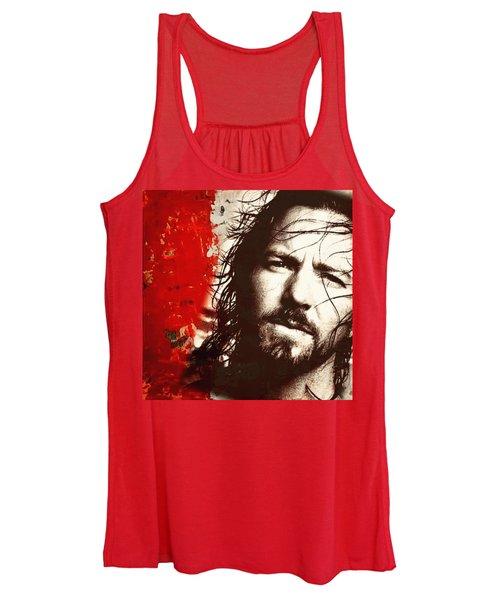 Eddie Vedder Women's Tank Top