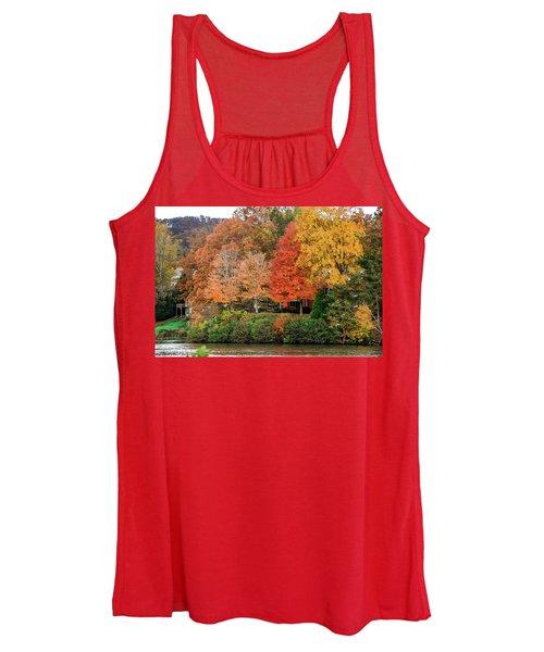 Fall At The Lake Women's Tank Top
