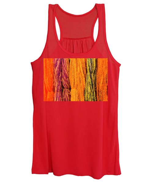 Fall Fibers 2 Women's Tank Top