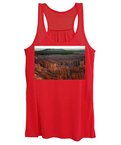 First Light On The Hoodoo Inspiration Point Bryce Canyon National Park Women's Tank Top