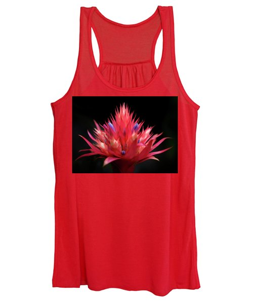 Flaming Flower Women's Tank Top