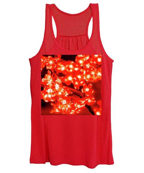 Flower Lights 4 Women's Tank Top