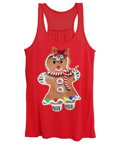 Gingerbread Cookie Girl Women's Tank Top