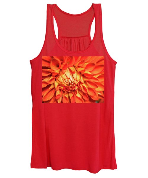 Glowing Women's Tank Top
