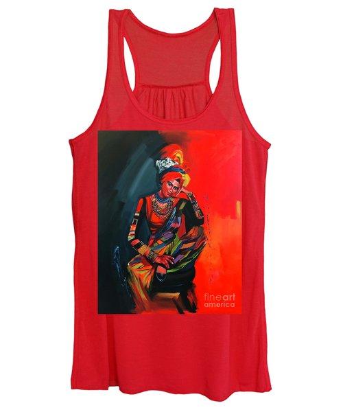 Goddess Of Colors Women's Tank Top