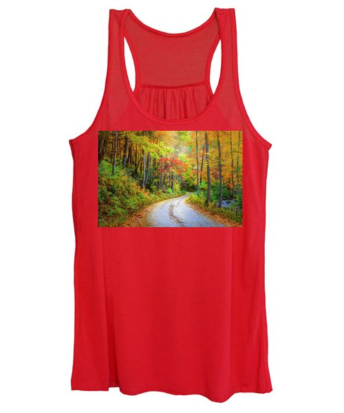 Going For The Gold Painting Women's Tank Top