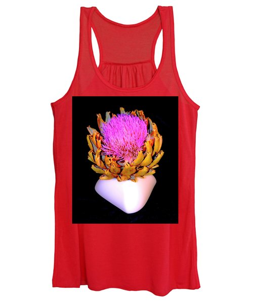 Gold And Pink Women's Tank Top