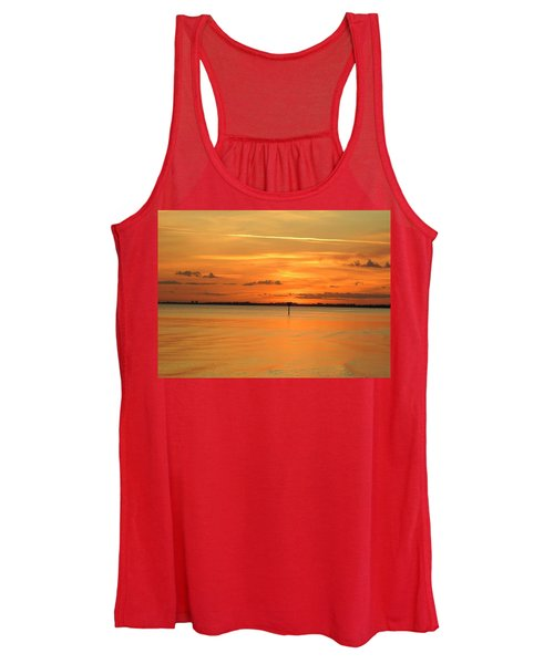 Golden Women's Tank Top