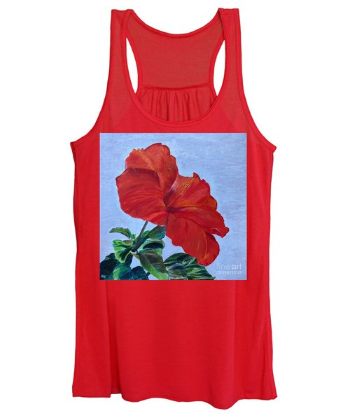Hibiscus Women's Tank Top