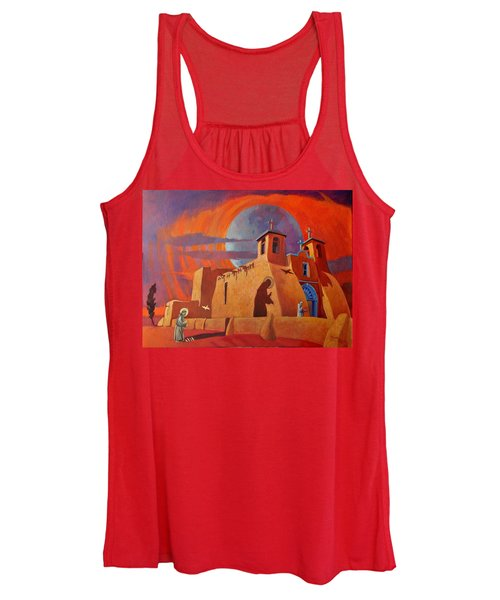 In The Shadow Of St. Francis Women's Tank Top