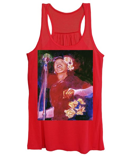 Lady Day - Billie Holliday Women's Tank Top