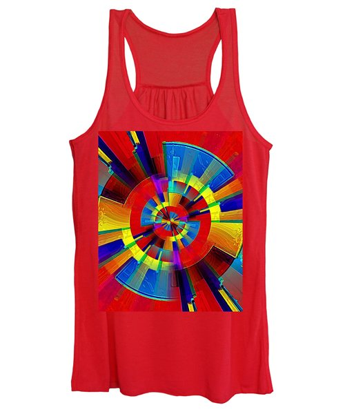 My Radar In Color Women's Tank Top